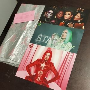 Jeffree Star Tissue Paper & Promo Cards & More